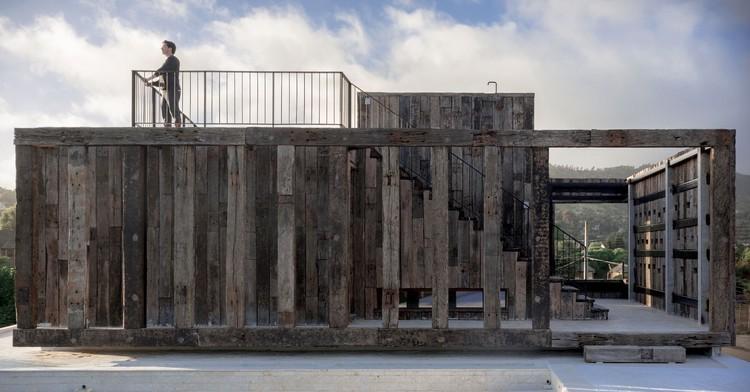 Machagua House / Croxatto y Opazo Arquitectos, © Daniel Casado Bissone