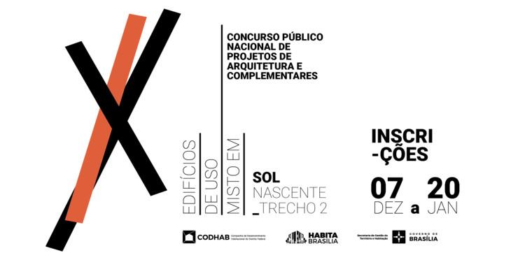 CODHAB lança novo Concurso Nacional de Projetos de Arquitetura para o Sol Nascente, via Codhab