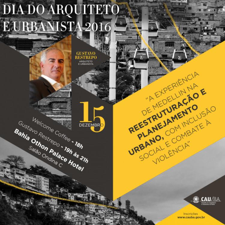 A experiência de Medellín na reestruturação e planejamento urbano, com inclusão social e combate à violência, CARTAZ - POST