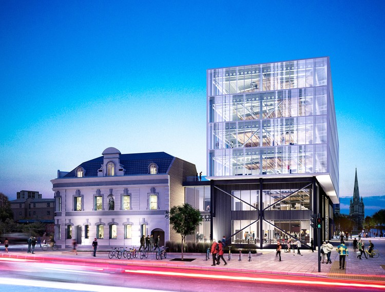 Grimshaw Designs Masterplan and Start-up Incubator in Bristol, Courtesy of Grimshaw