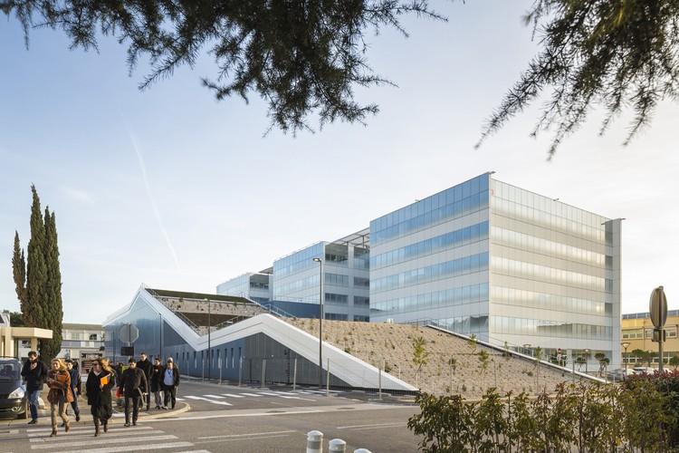 Centro de desarrollo de helicópteros de Airbus Marignane / Michel Rémon & Associés, © Sergio Grazia