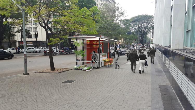 Terceiro lugar no Concurso Público Nacional de Ideias para Elementos de Mobiliário Urbano de São Paulo , Cortesia de Térreo Arquitetos