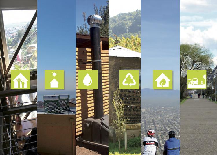"""Manuales descargables y gratuitos para construir espacios públicos y viviendas sustentables, © Fuente: Tomo I de """"Estándares de Construcción Sustentable para Viviendas de Chile"""""""
