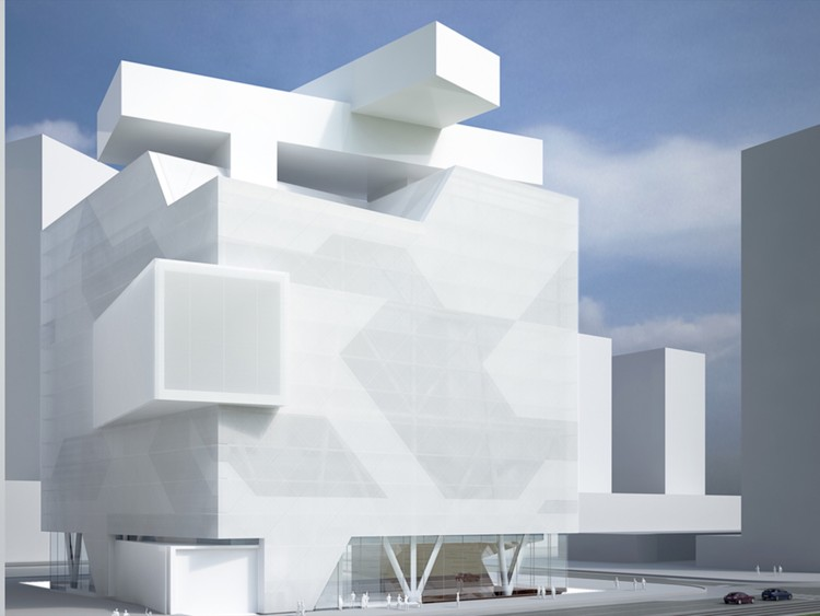 Asymptotes Designs for Moscow Contemporary Hermitage Museum