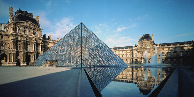 "Pirâmide do Louvre de I.M.Pei vence o ""AIA 25 Year Award"", © Koji Horiuchi. Courtesy of AIA"