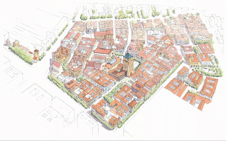 Cruz del Campo: una alternativa patrimonial para revertir un megaproyecto urbano en Sevilla, Cortesía de Premio Rafael Manzano Martos