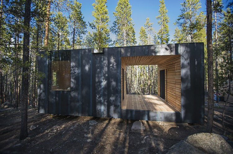 COBS Year-Round Micro Cabins / Colorado Building Workshop, © Jesse Kuroiwa