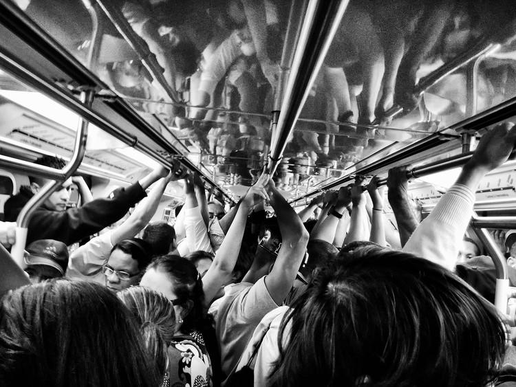 São Paulo publica estudo sobre mobilidade das mulheres na cidade , Metrô de São Paulo. Image © Diego Torres Silvestre, via Flickr. Licença CC BY 2.0