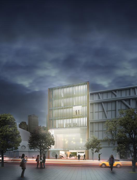 FP Arquitectura, segundo lugar en concurso de nuevo edificio de la Universidad Santo Tomas en Bogotá, Cortesía de FP Arquitectura