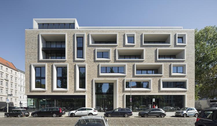 Ackerstraße 29 / Tchoban Voss Architekten, © Werner Hutchmacher