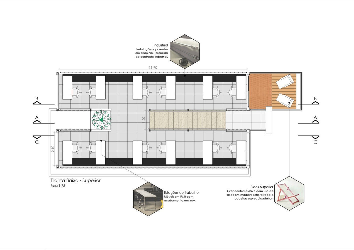 Container,Floor Plan