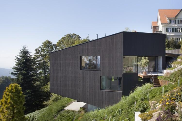 House Sch / Dietrich | Untertrifaller Architects, © Bruno Klomfar