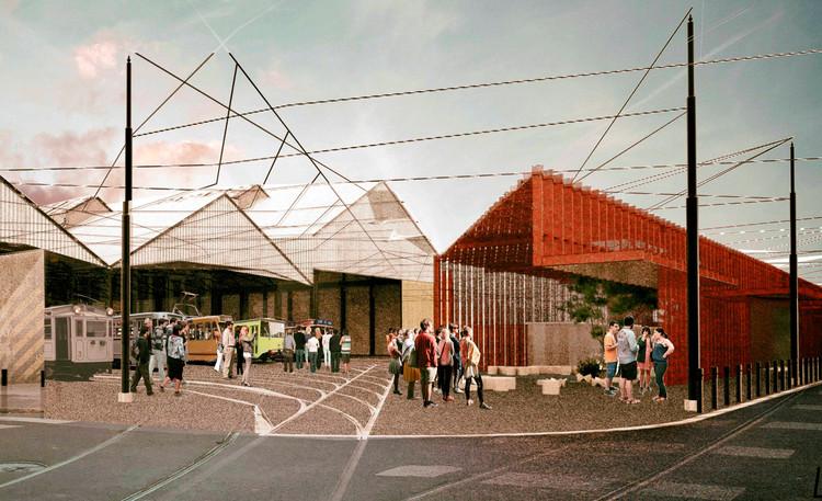 Tercer Premio Concurso Latinoamericano de Estudiantes de Arquitectura UFLO 2016, Cortesía de Javier I. Barrios