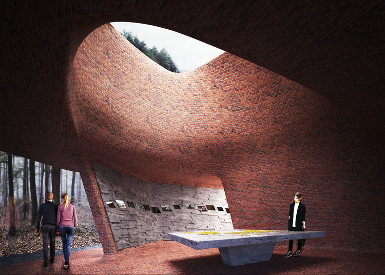 Matthijs Ia Roi Wins Belgian Monument Competition with Museum of Hospitality, Courtesy of Matthijs Ia Roi
