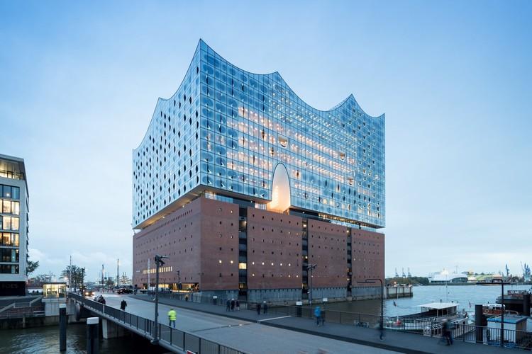 Elbphilharmonie Hamburgo / Herzog & de Meuron, © Iwan Baan