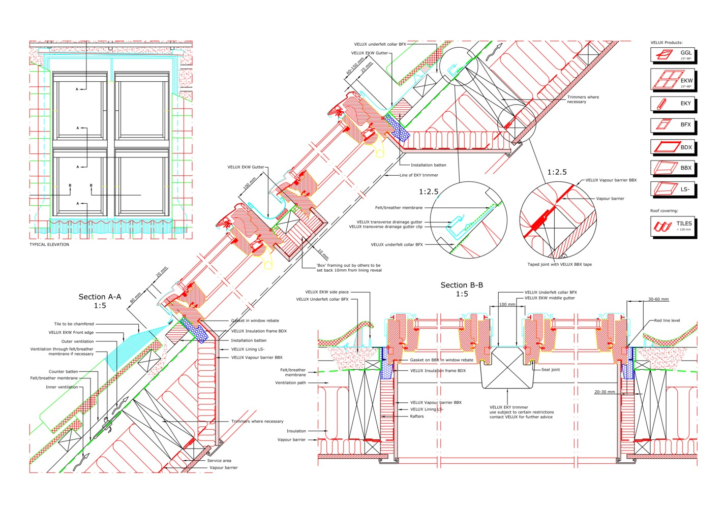 Gallery Of 16 Cad Files Of Roof Windows And Light Tubes