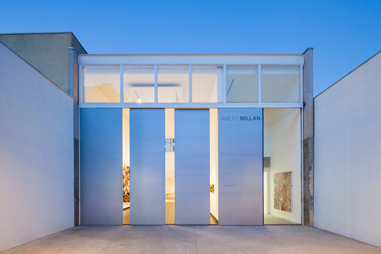 Milan Gallery Annex / Kipnis Arquitetos Associados + Fernando Millan, © Pedro Vannucchi