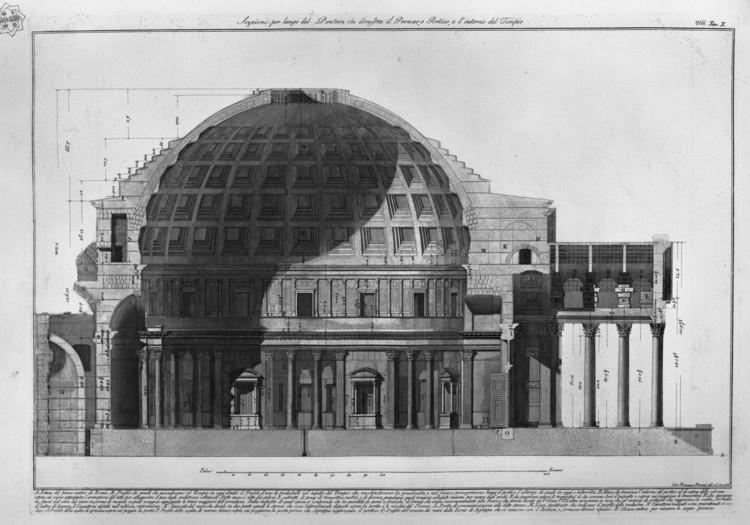 Roman Architecture Pantheon ad classics: roman pantheon / emperor hadrian | archdaily