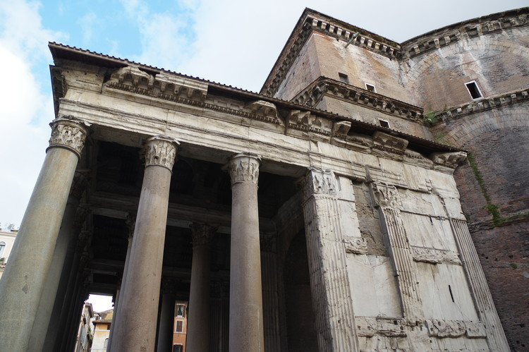 Roman Architecture Pantheon ad classics: roman pantheon / emperor hadrian | archdaily