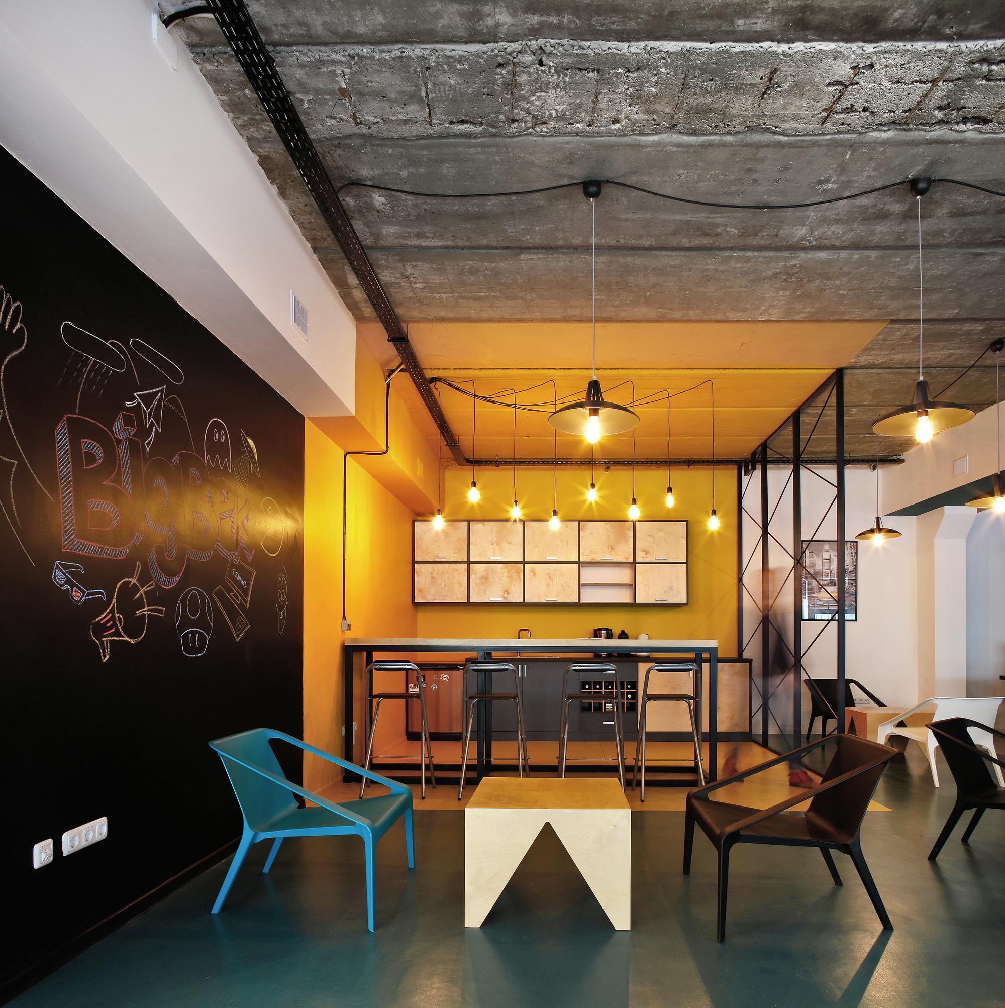 Galeria de escrit rio bigbek snkh architectural studio 9 for Modern office design and architecture inc