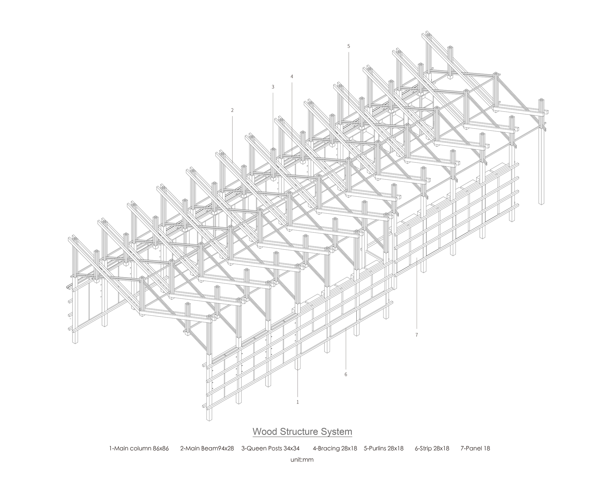 Truss Bridge Diagram Through Gallery Of The Inverted B P Architects 40 Zoom Image View Original Size