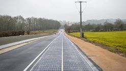 World's First Solar Panel Road Debuts in France