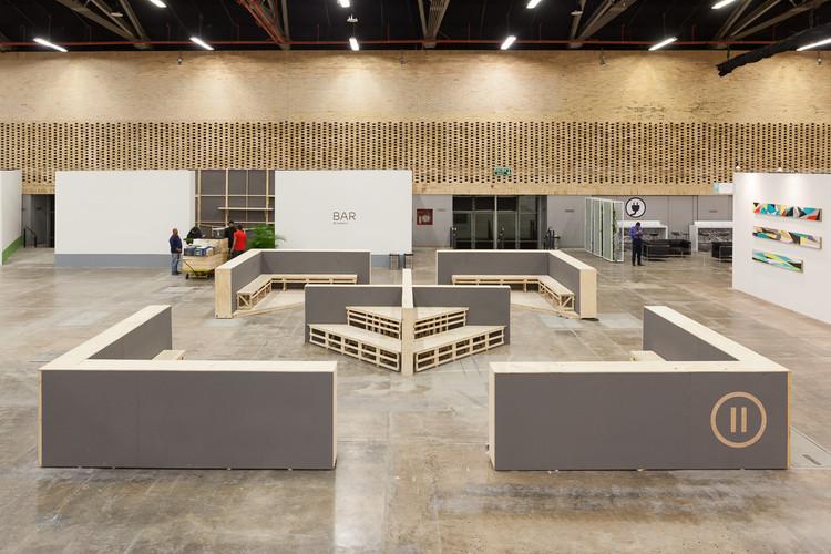 Ambientación general ARTBO 2016 / Yemail Arquitectura + Estudio Altiplano, Zona de descanso 2. Image © Santiago Pinyol