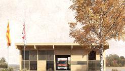 Josep Ferrando presenta diseño de nuevo parque de bomberos en España