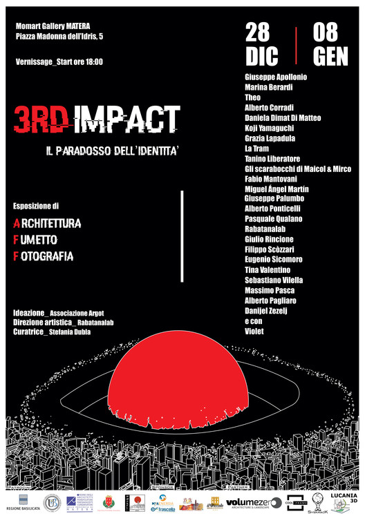 3rd Impact: The Identity Paradox. The Relationship Between Architecture, Comics and Photography, 3rD Impact: The Identity Paradox. Designed by Rabatanalab