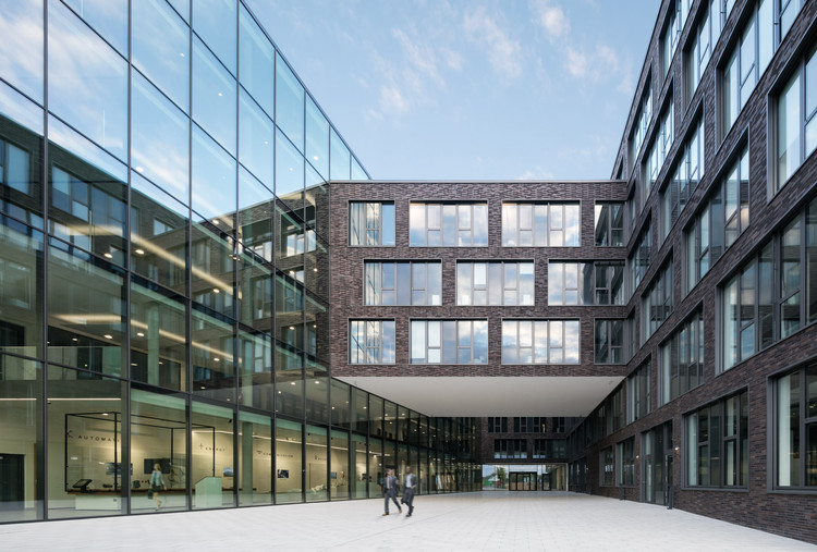 headquarter mitsubishi electric europe / kresings | archdaily