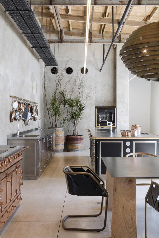 Gallery Of Siematic La Cornue Showroom Levin Packer Architects 2