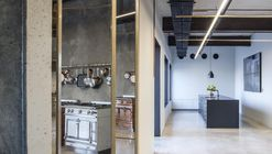 SieMatic-La Cornue Showroom / Levin Packer architects