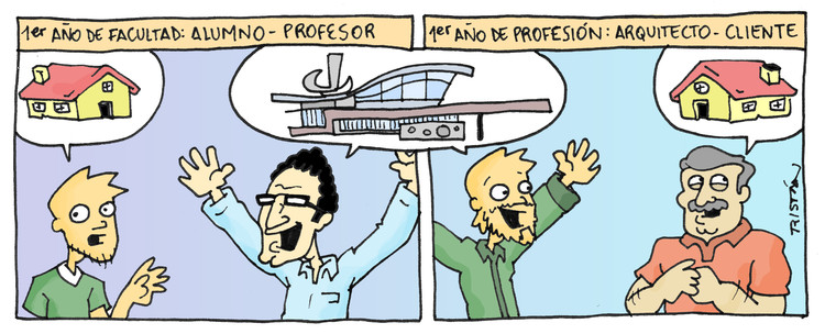El estudiante de arquitectura a través de 15 tiras cómicas, por Tristán Comics, Cortesía de Tristán Comics