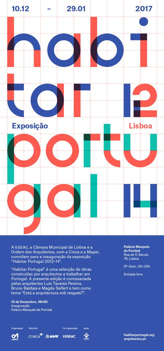 Exposição de Lisboa: Habitar Portugal 12-14 , Habitar Portugal 12-14
