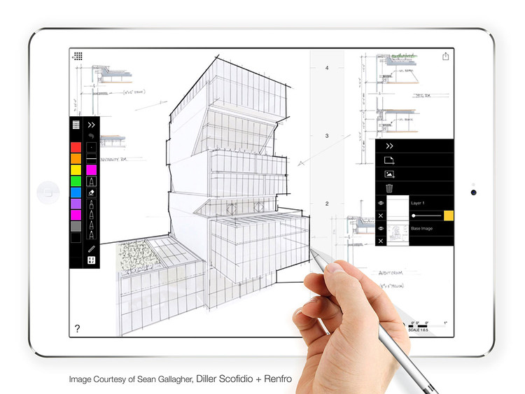 12 top apps for architects on the construction site archdaily for Best drawing app for interior designers