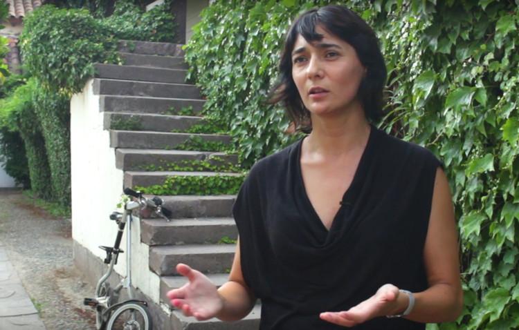 Verónica Arcos: 'Me interesa que los alumnos aprendan a sistematizar el proceso de diseño', vía ArchDaily