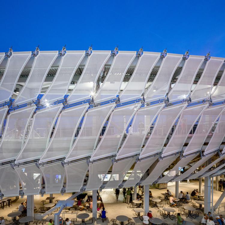 Grandstand Stadium / ROSSETTI, © Rafael Gamo
