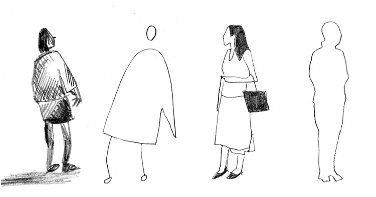 What the Way You Sketch Scale Figures Says About You, © Sharon Lam