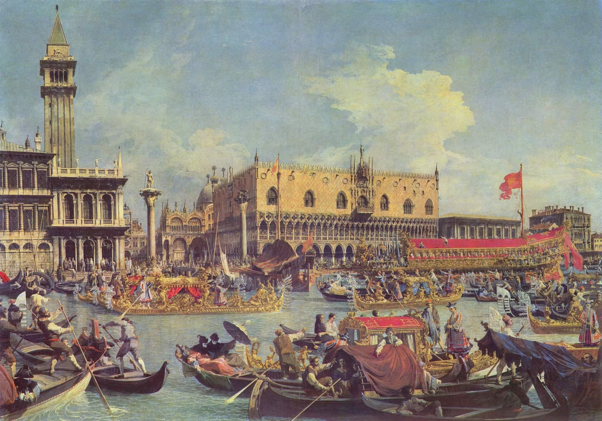 Venice isnt sinking its flooding and it needs to learn how to canalettos il ritorno del bucintoro nel molo il giorno dellascensione 1730 nvjuhfo Choice Image