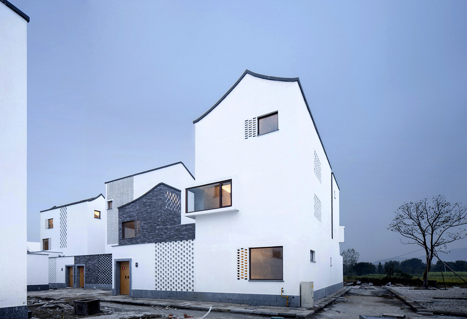 dongziguan affordable housing for relocalized farmers gad archdaily