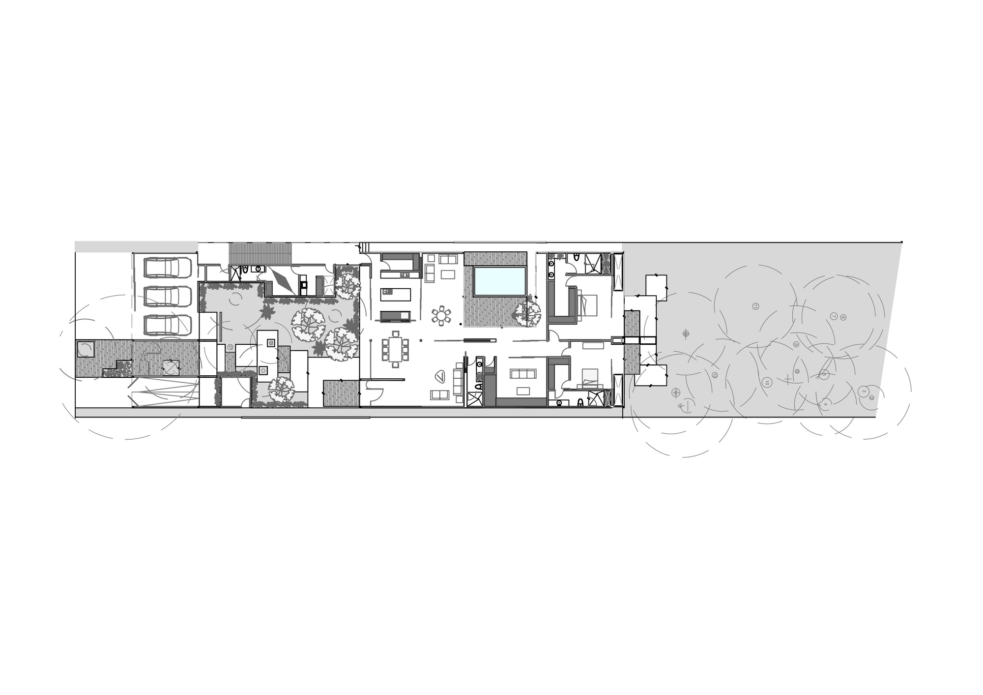 Gallery of pm house fgo arquitectura 30 for 10 shelford floor plan