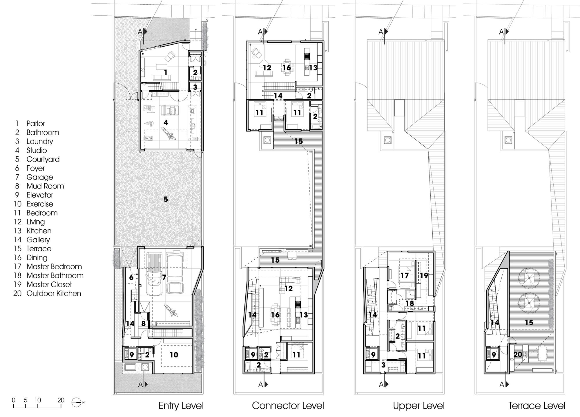 Galeria de pequena grande casa robert maschke architects for Little big house plans