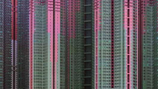 """Michael Wolf Explains the Vision Behind his Hong Kong Photo Series, """"Architecture of Density"""""""