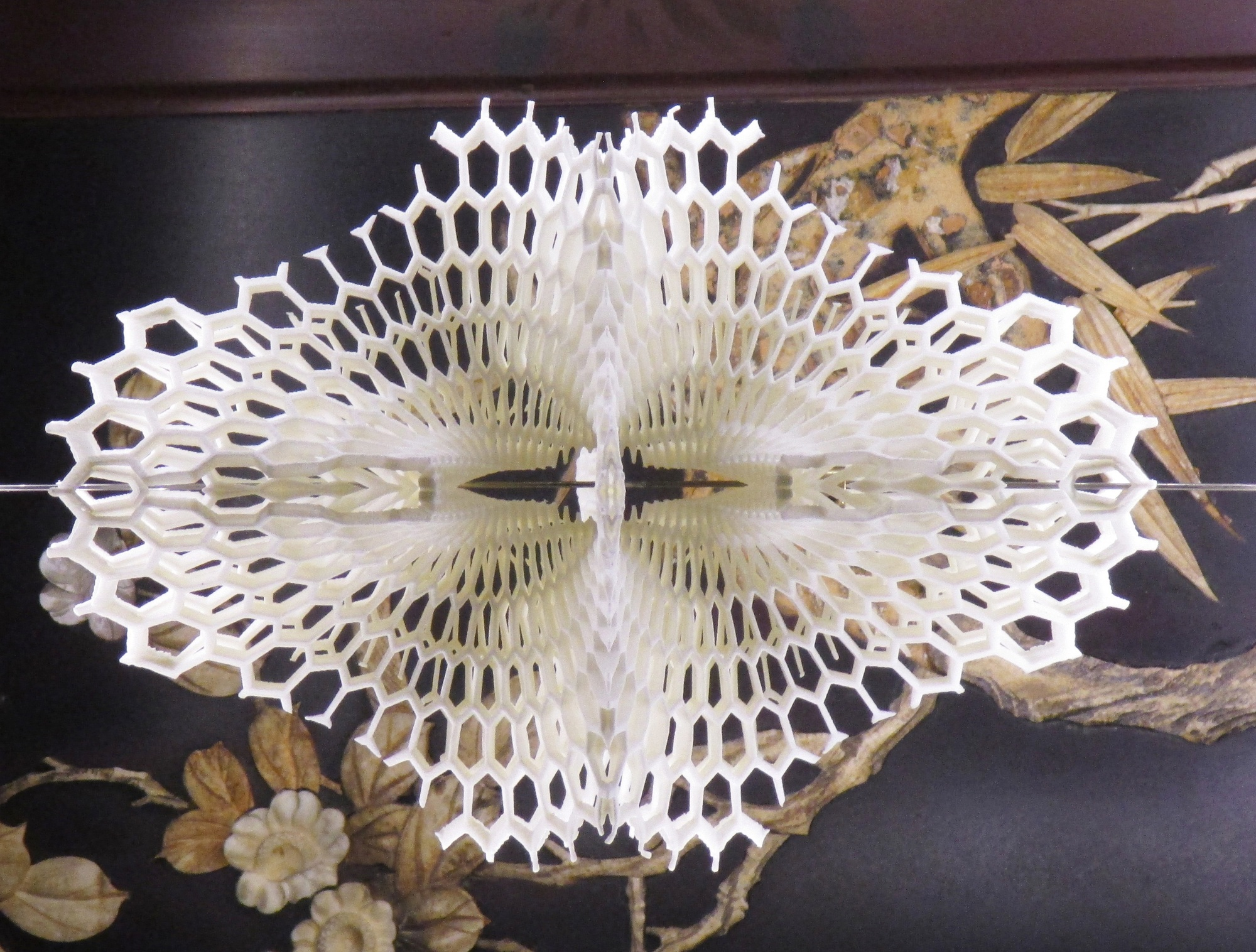 Margot Krasojević Architects Unveils Lace-Like 3D Printed Light Made of Recycled Plastic