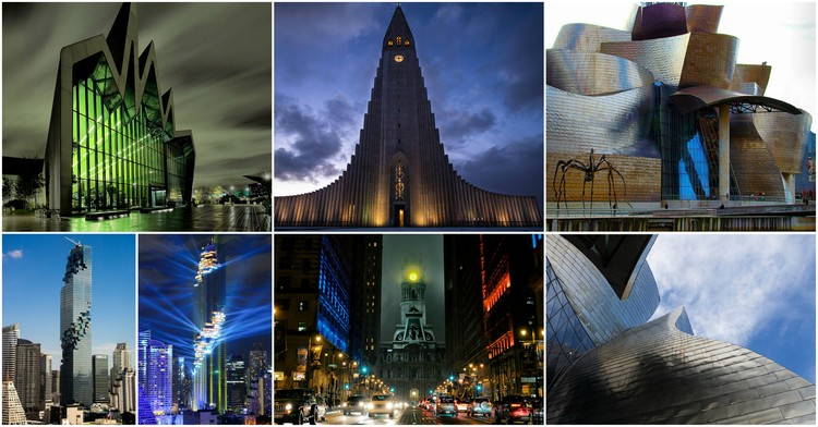 Evil vs. Impressive: How do Scale and Lighting Affect Perception of Architecture?