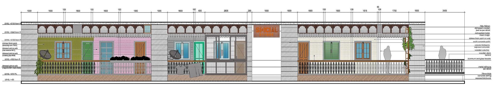 Gallery of Cyber Hub Social / Chromed Design Studio - 15
