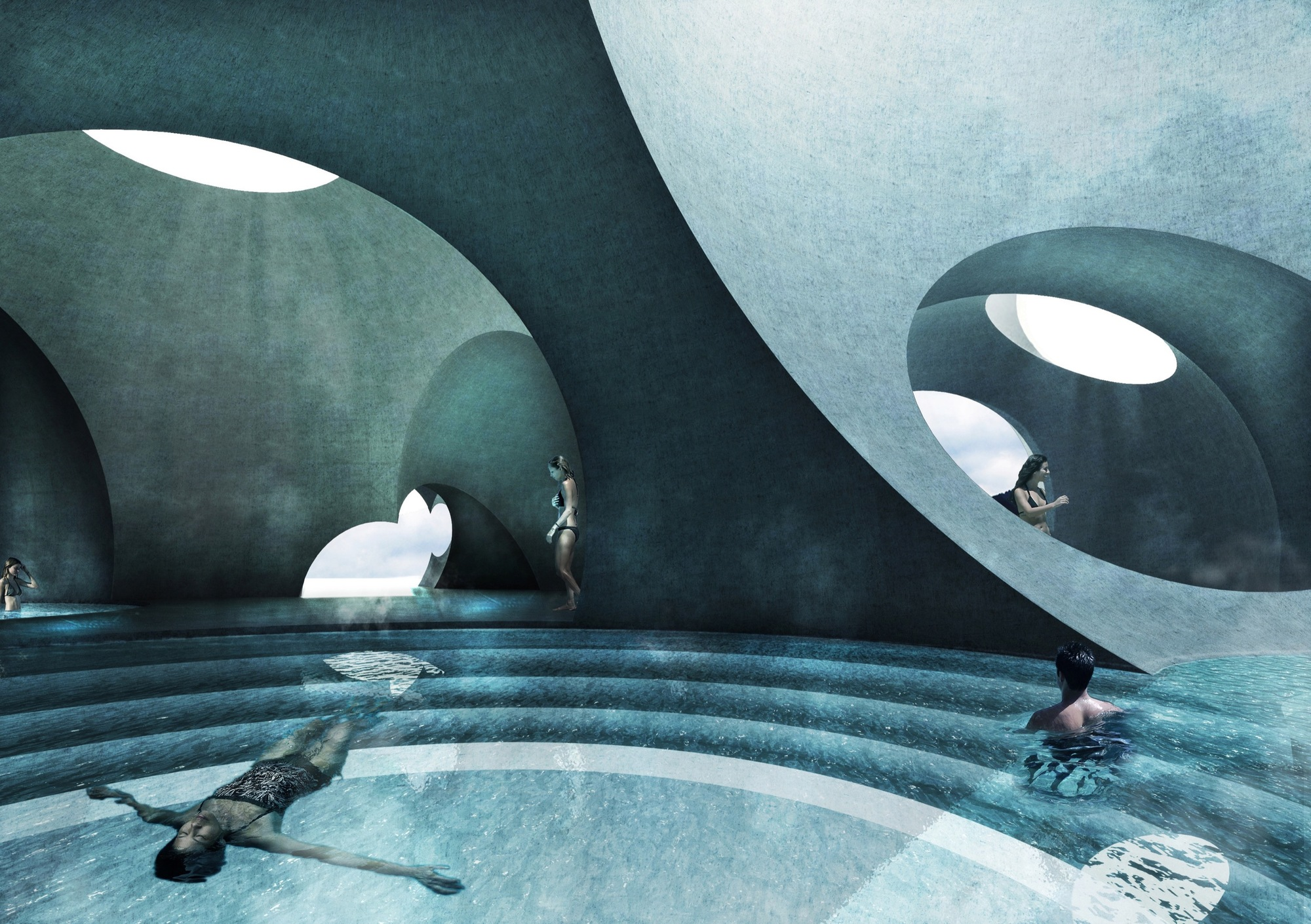 Steven Christensen Architecture Wins AAP Award with Liepāja Thermal Bath and Hotel