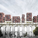 COMPETITION-WINNING DESIGN PROPOSES WOOD HOUSING ADDITION TO FOURTH-CENTURY AQUEDUCT IN ISTANBUL