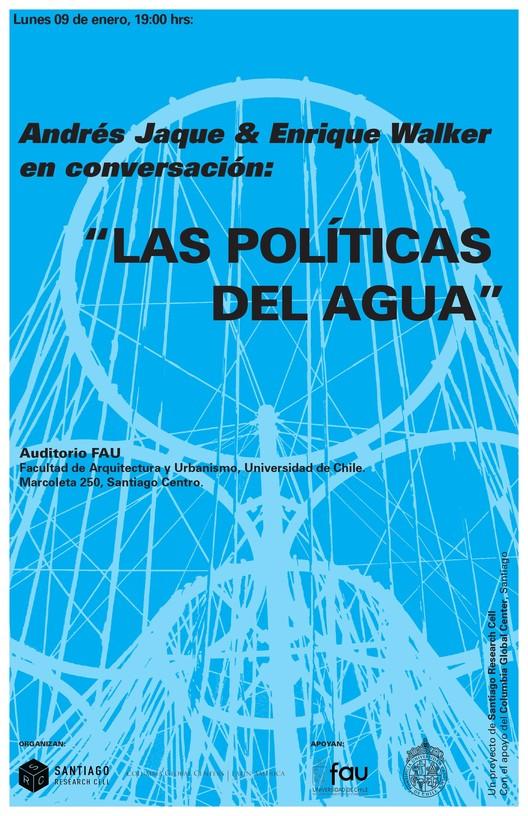 Andrés Jaque y Enrique Walker en conversación: 'Las políticas del agua'