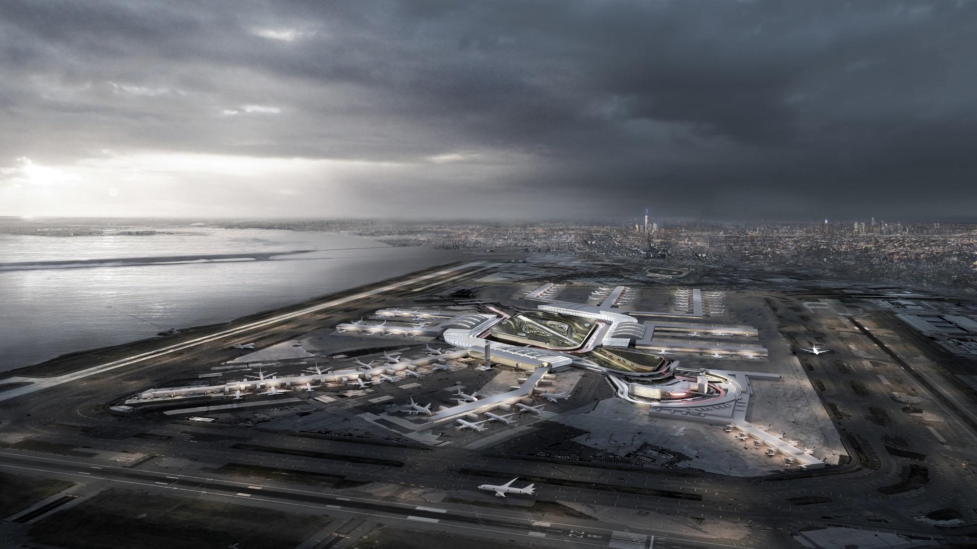 New York Plans 10 Billion Renovation Of Jfk Airport